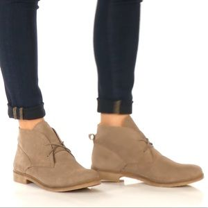 Lucky Brand Garboh Chukka Bootie Suede Lace Up